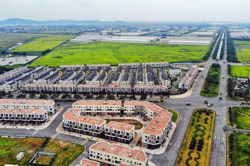 Khu công nghiệp và Đô thị VSIP Bắc Ninh sẵn sàng đón các nhà đầu tư. (Ảnh: Danh Lam/TTXVN)