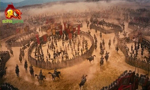 Bát trận đồ của Gia Cát Lượng, đỉnh cao dàn trận trong lịch sử quân sự - Ảnh 6.