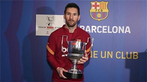Messi lập kỷ lục lần thứ 7 đoạt danh hiệu Pichichi