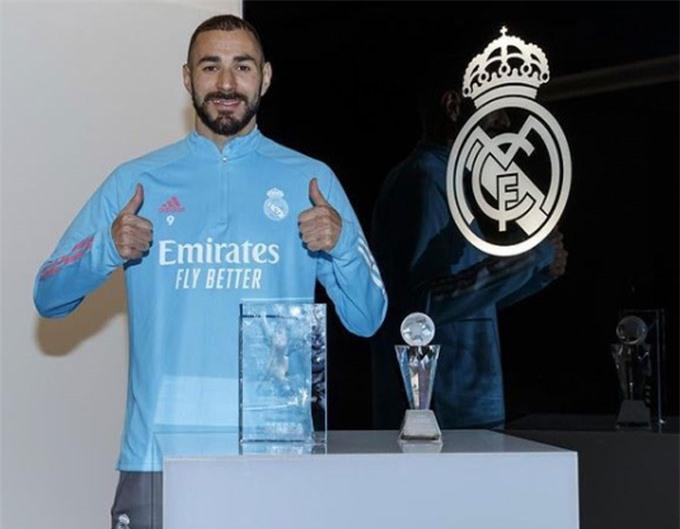 Benzema bỏ túi danh hiệu Cầu thủ hay nhất La Liga 2019/20