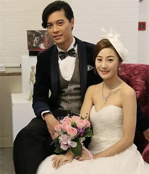 Lê Chấn Diệp và cô bồ Chu Trí Hiền.