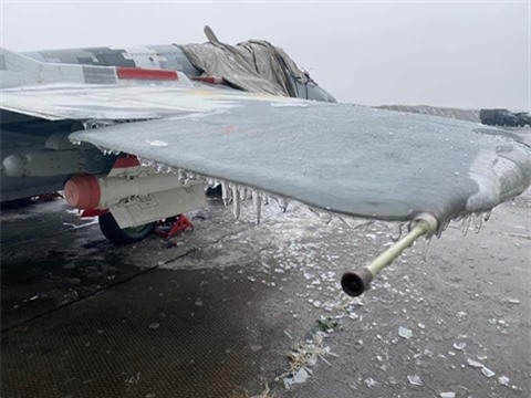 Tiem kich MiG-29 cua Ukraine khong the bay do... bi dong bang