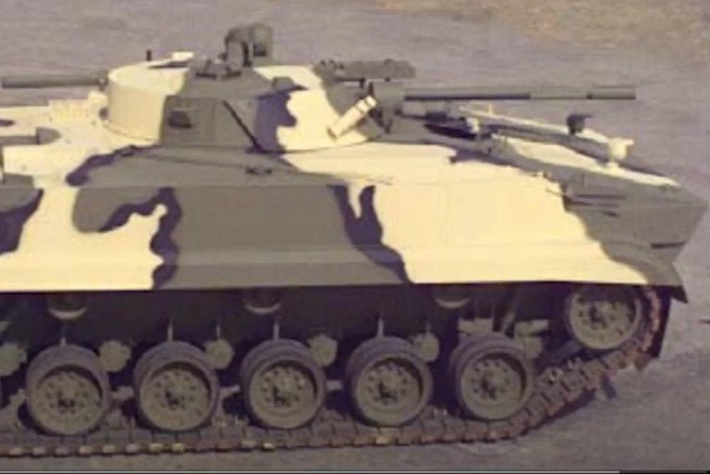 Mỹ hoán cải xe tăng chiến đấu chủ lực M48 thành xe chiến đấu bộ binh BMP-3. Ảnh: TASS.