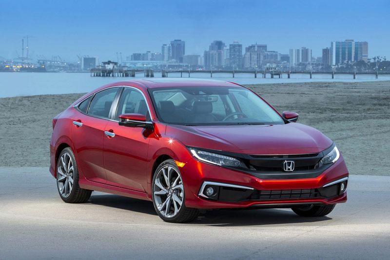 5. Honda Civic 2021.