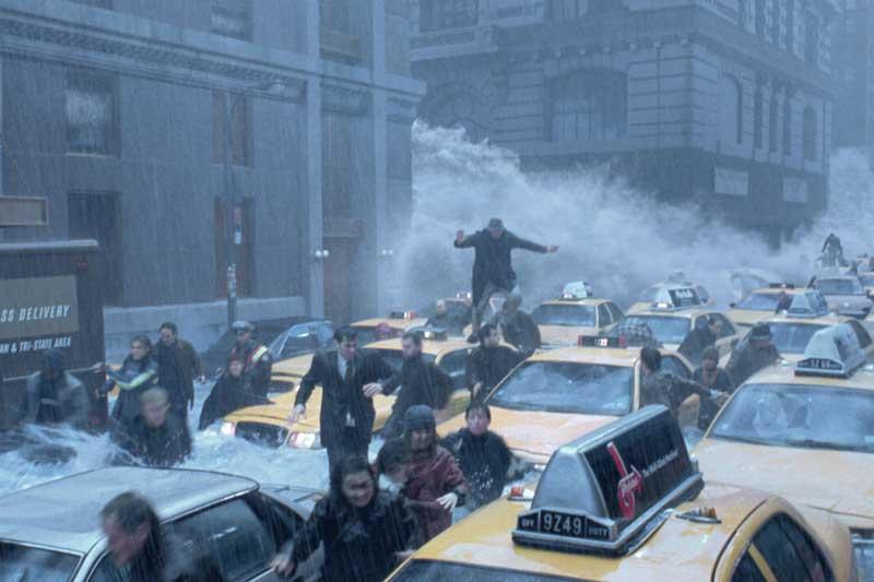 Một hình ảnh trong phim Ngày kinh hoàng.