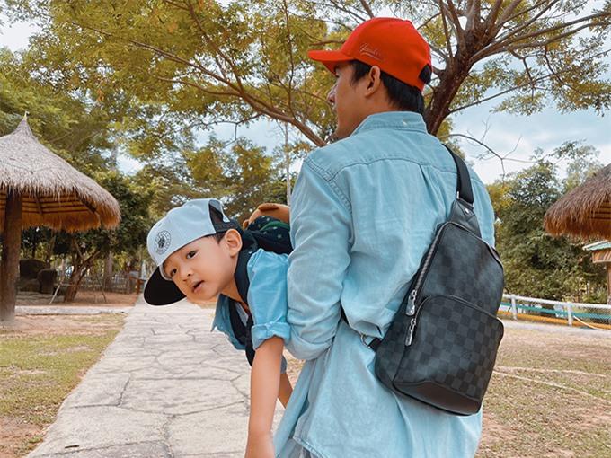 Bé Bảo Bảo là trái ngọt đầu tiên trong cuộc hôn nhân của Thúy Diễm và Lương Thế Thành. Cậu nhóc chào đời hồi tháng 6/2018. Vợ chồng nữ diễn viên hiện ao ước có thêm một cô công chúa để gia đình đủ nếp đủ tẻ.