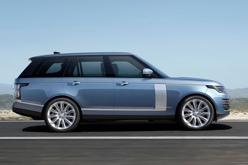 1. Land Rover Range Rover 2020 (khoảng sáng gầm: 297 mm).