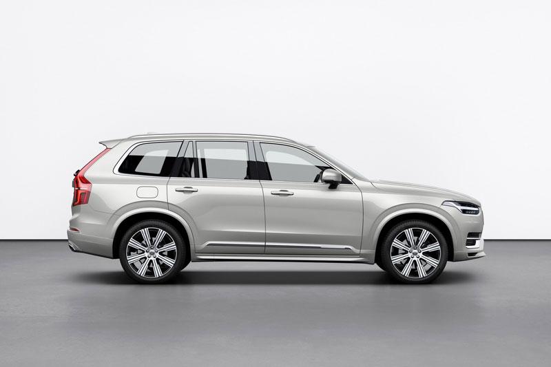 5. Volvo XC90 2020 (khoảng sáng gầm: 267 mm).