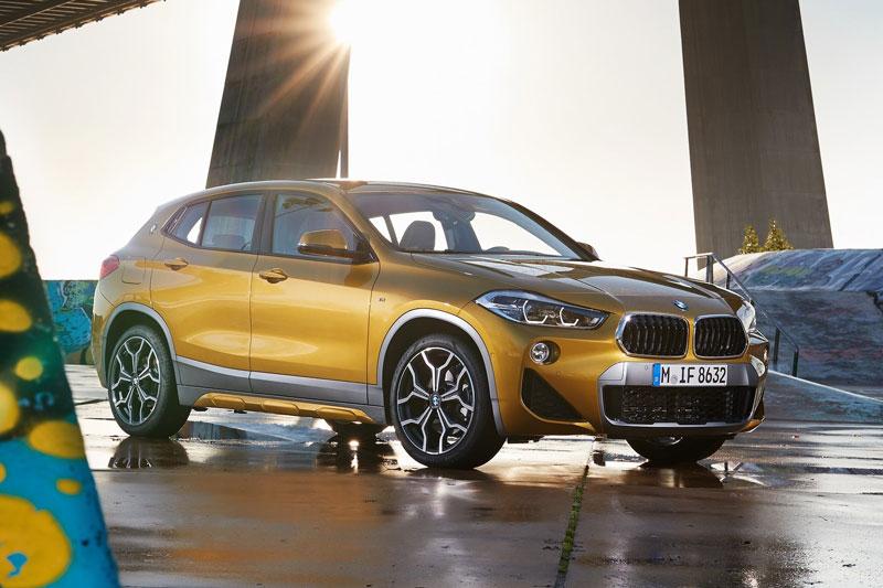 6. BMW X2 2020 (giá khởi điểm: 36.400 USD, điểm tổng thể: 7,7/10).