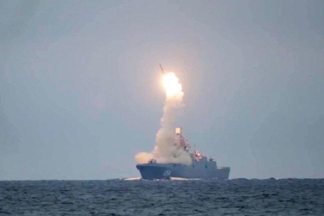Hải quân Nga đang đẩy nhanh tiến độ hoàn thành tên lửa hành trình diệt hạm siêu thanh 3M22 Zircon. Ảnh: TASS.