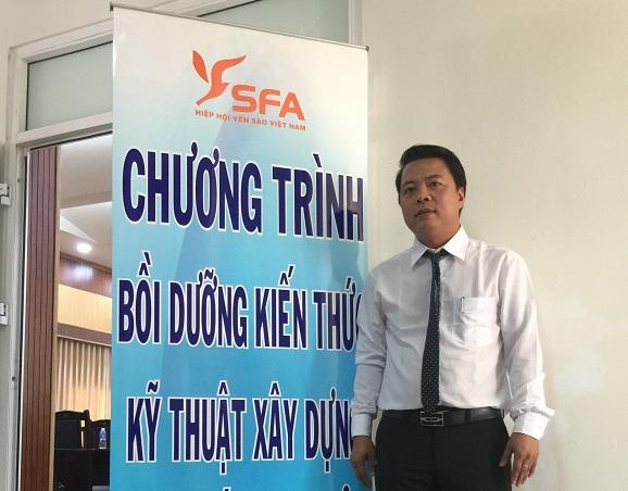 Ông Phạm Duy Khiêm, Chủ tịch Hội Yến Sào Phú Yên.