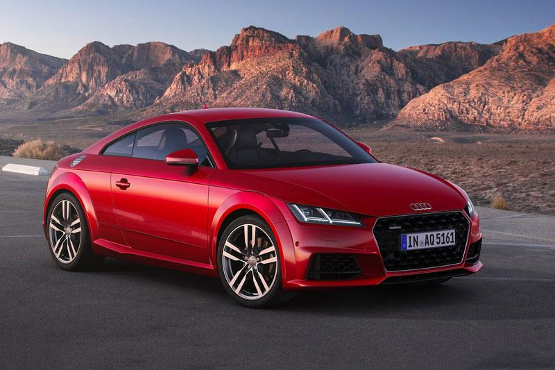 9. Audi TT 2021 (giá khởi điểm: 49.800 USD).