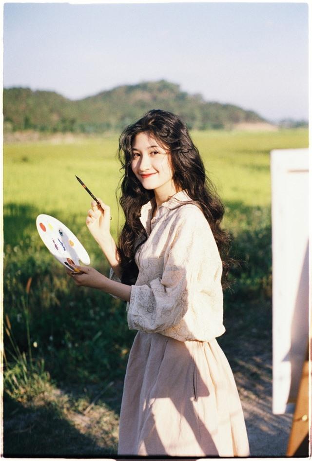 Nữ sinh ĐH Nha Trang đẹp tựa diễn viên Hoa ngữ - 2