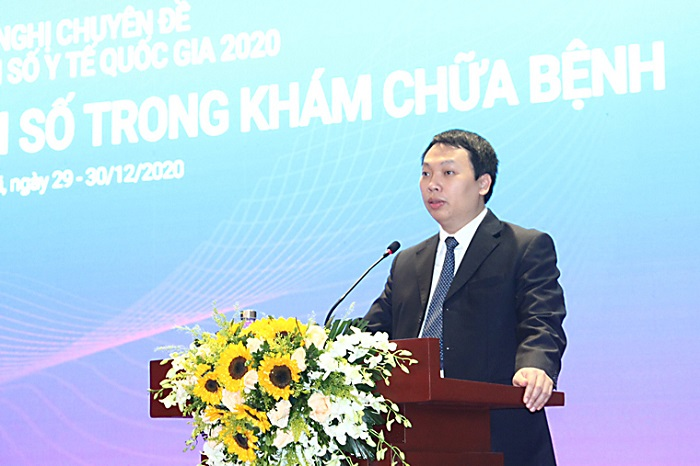Thứ trưởng Nguyễn Huy Dũng phát biểu khai mạc Phiên họp.