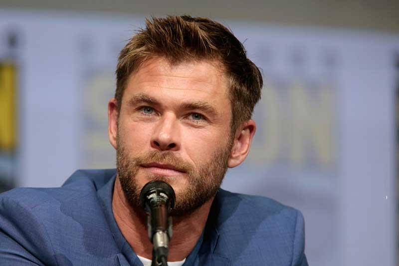 3. Chris Hemsworth.