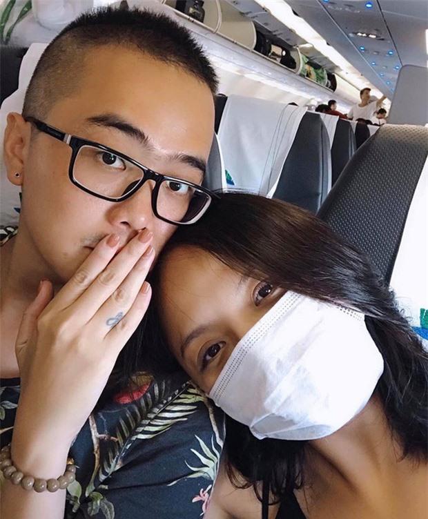 Những sao Việt công khai người yêu trong năm 2020 - Ảnh 2.