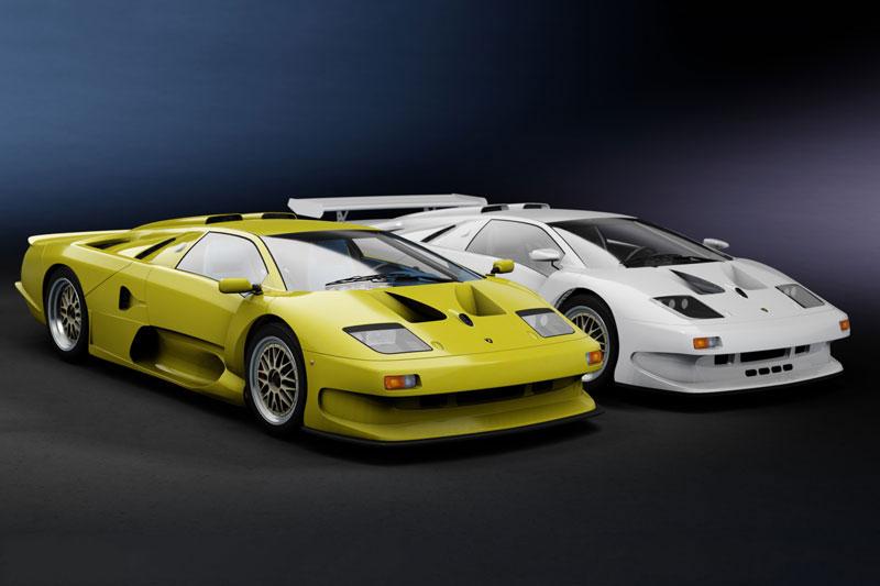 10. Lamborghini Diablo GT1 Stralade.
