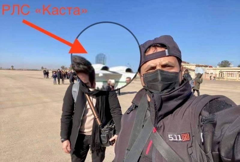 Đài radar cảnh giới bắt thấp Kasta-2E2 do Nga chế tạo. Ảnh: Reporter.