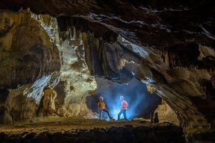 Hang Chà Lòi một trong những hang động nổi tiếng của Quảng Bình