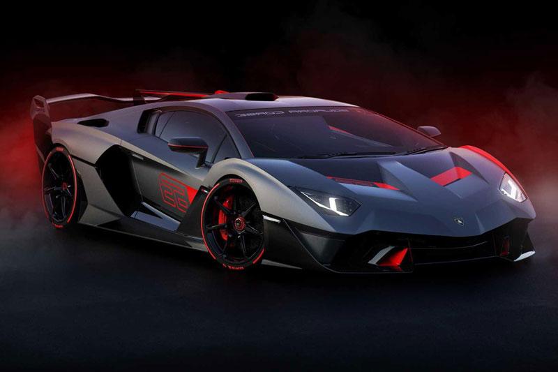 3. Lamborghini SC18 Alston.