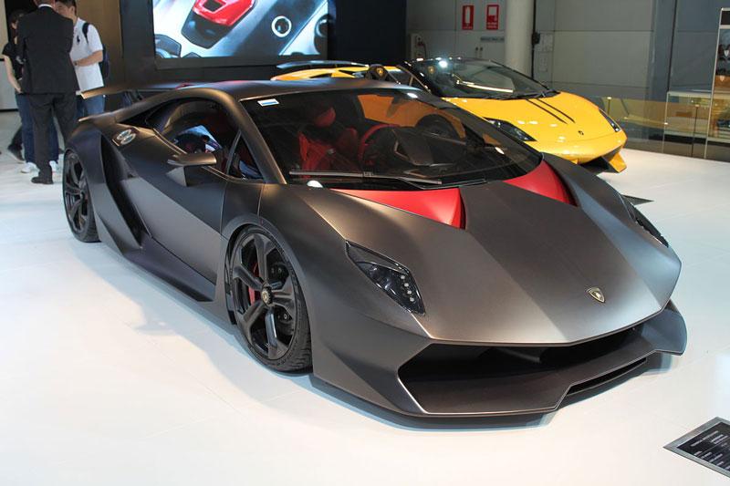 5. Lamborghini Sesto Elemento.