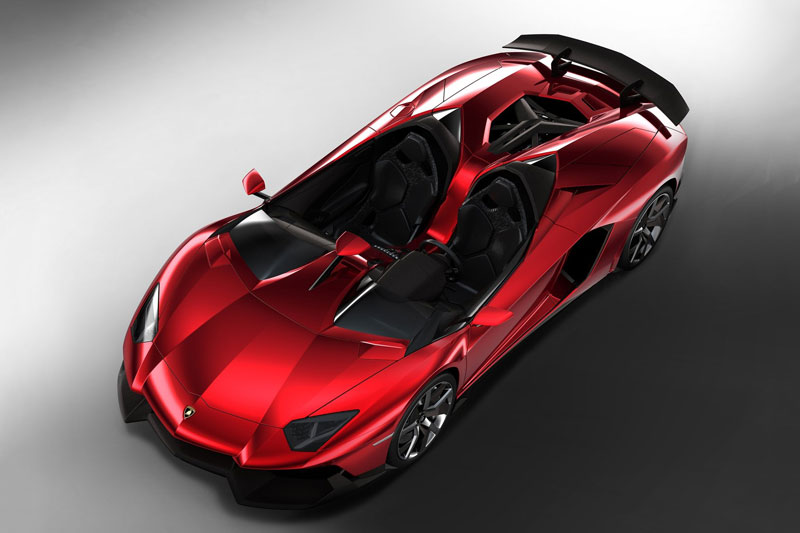 6. Lamborghini Aventador J.