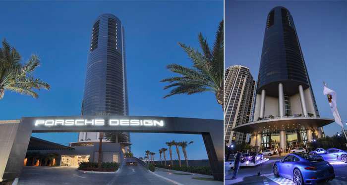 Tòa nhà Porsche Design Tower