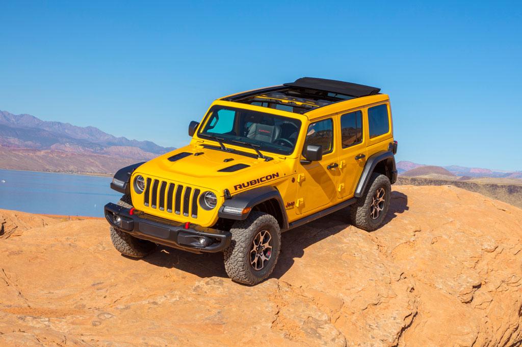 10. Jeep Wrangler 2020.
