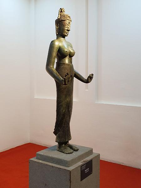 cần được chuyển giao cho Bảo tàng Điêu khắc Chăm Đà Nẵng để khôi phục yếu tố nguyên gốc vốn có; bảo vệ, gìn giữ và phát huy giá trị của Bảo vật quốc gia Tượng Bồ tát Tara