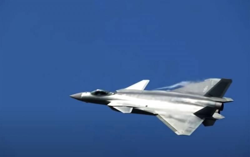 Tiêm kích tàng hình thế hệ năm Chengdu J-20 của Trung Quốc. Ảnh: TASS.