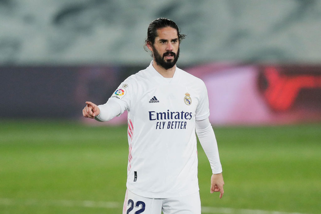6. Isco (Real Madrid).