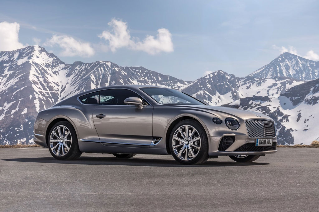 Bentley Continental GT Coupe V8.