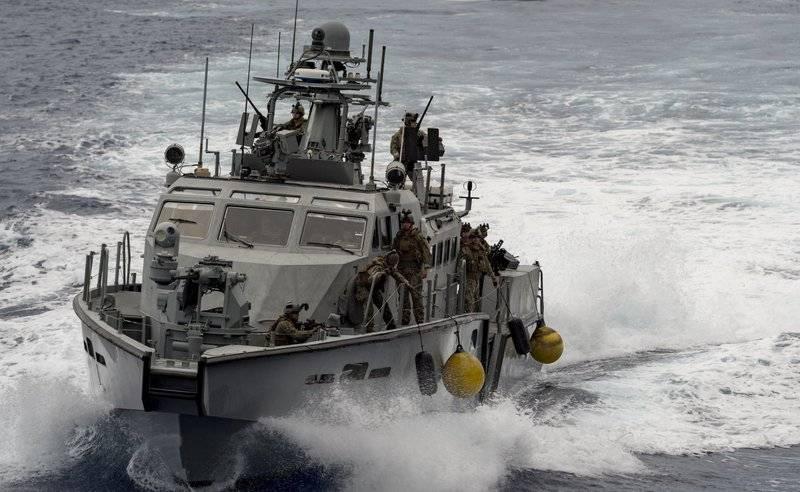 Tàu tuần tra cao tốc Mk IV của Mỹ. Ảnh: Topwar.