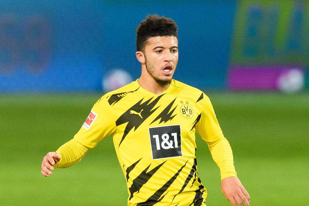 6. Jadon Sancho (Borussia Dortmund, 134 triệu bảng).