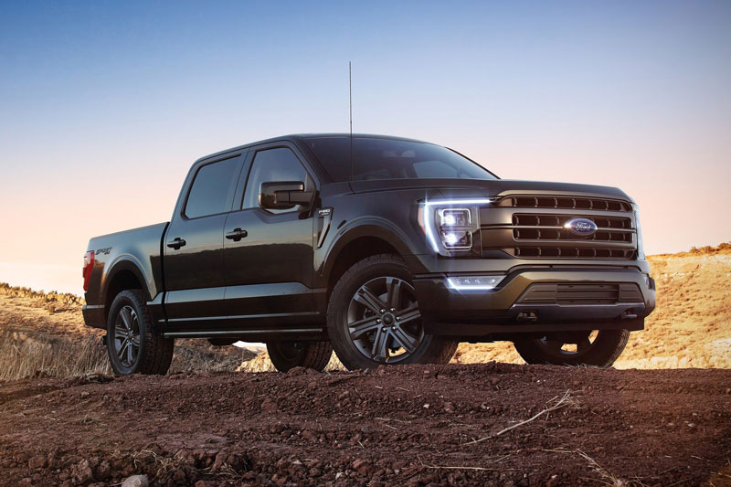 7. Ford F-150.