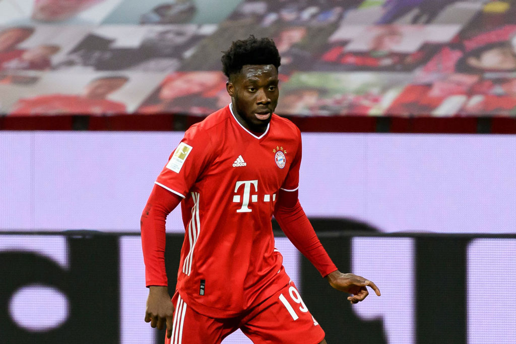 8. Alphonso Davies (Bayern Munich, 126 triệu bảng).