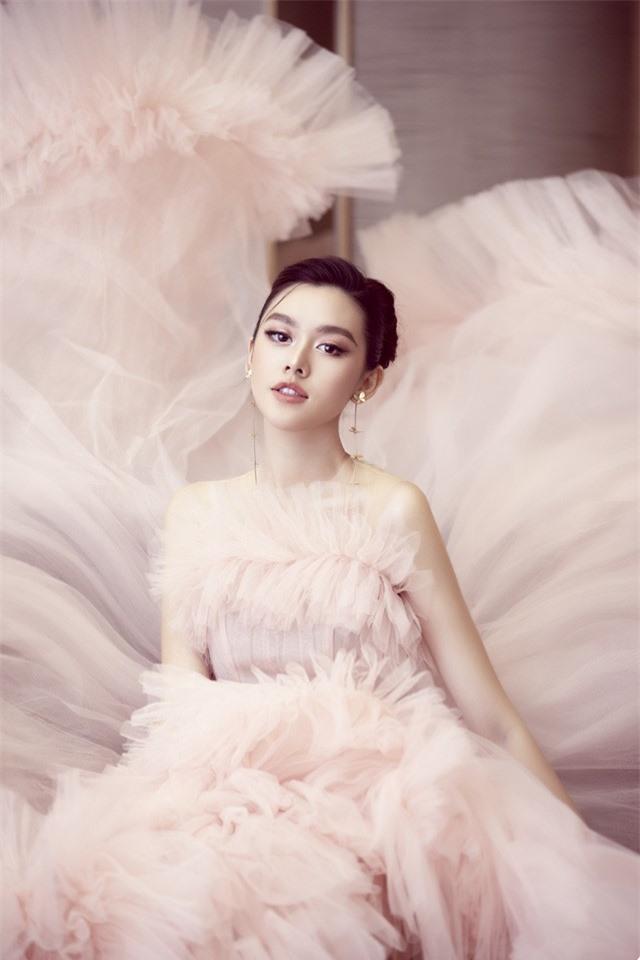 Á hậu Tường San xinh như công chúa lần đầu xuất hiện sau đám cưới - Ảnh 5.