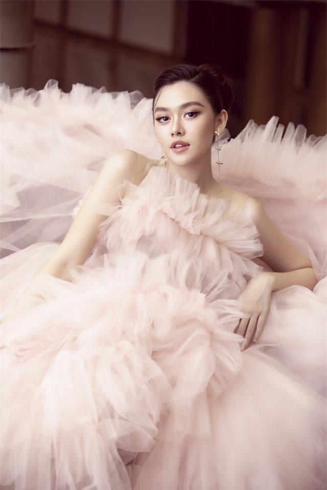 Á hậu Tường San xinh như công chúa lần đầu xuất hiện sau đám cưới - Ảnh 6.
