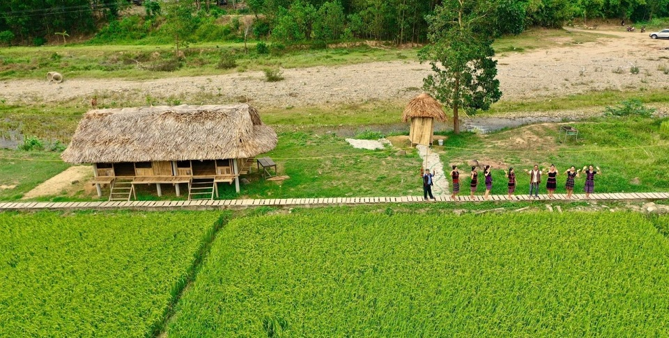 Cánh đồng của làng A nôr