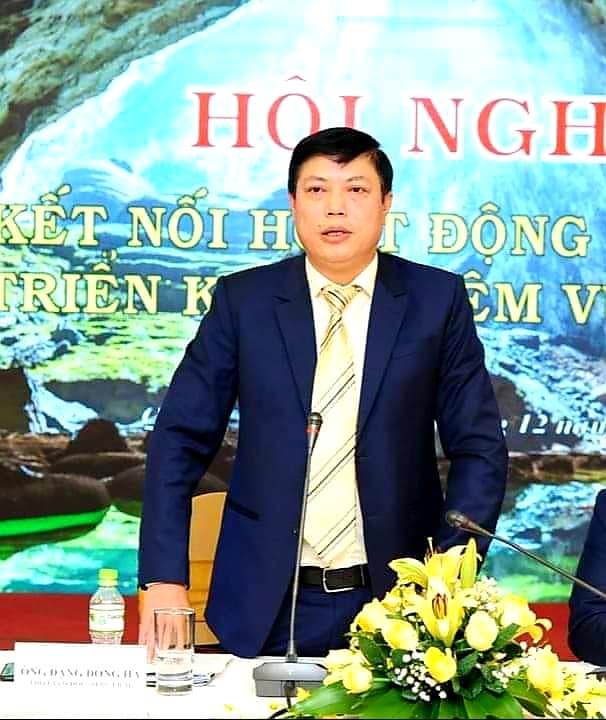 Ông Đặng Đông Hà Phó Giám đốc Sở Du Lịch Quảng Bình