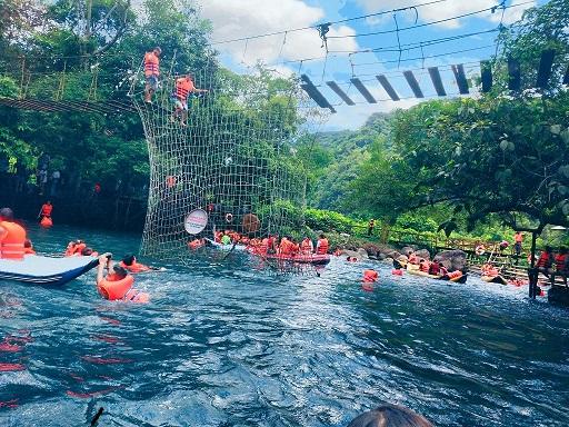 Suối nước Mooc điểm đến hấp dẫn của du lịch Quảng Bình