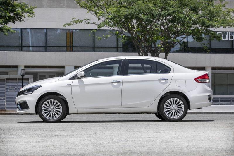 8. Suzuki Ciaz (doanh số: 291 chiếc).