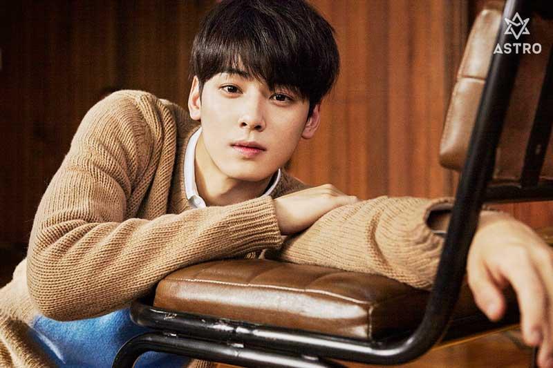Cha Eun-woo.