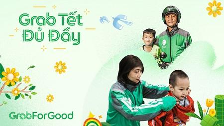 Grab dành đến 3,5 tỷ đồng hỗ trợ đối tác và cộng đồng đón Tết