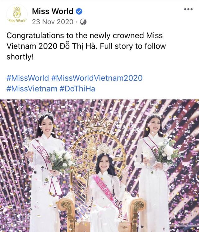 Hoa hậu Đỗ Hà bất ngờ được dự đoán lọt Top 10 Miss World 2021 - Ảnh 2.