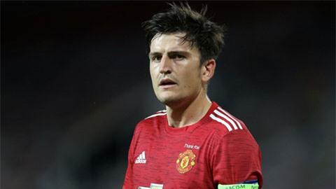 Maguire có khả năng không thể ra sân ở đại chiến với Liverpool