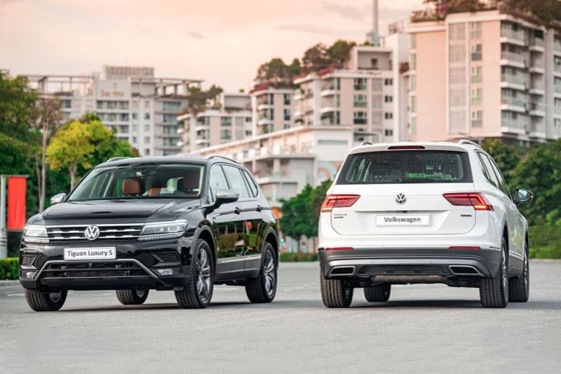 Volkswagen Tiguan Luxury S và Tiguan Elegance 2021.