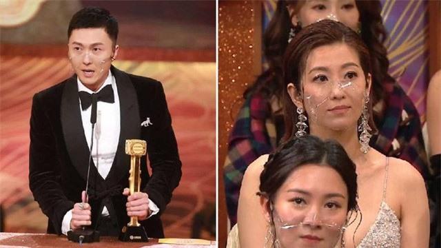 Vương Hạo Tín vừa giành cúp vàng TVB đã đối mặt với tin đồn hôn nhân rạn nứt - Ảnh 1.
