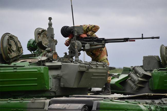 Xe tăng chiến đấu chủ lực T-72B3 đã có màn thể hiện tốt trên chiến trường Syria. Ảnh: Topwar.
