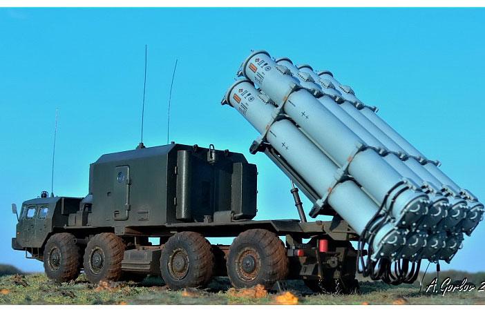 Hệ thống tên lửa bờ Bal của Nga.